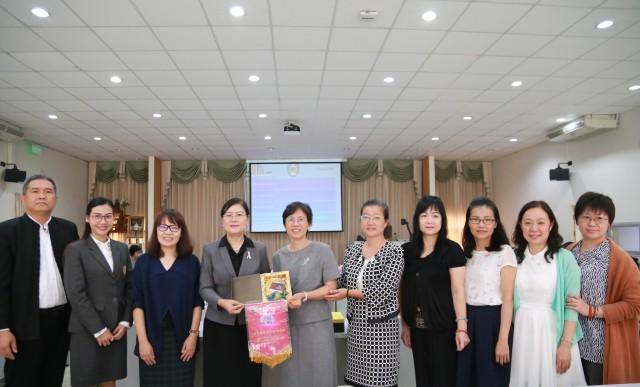 มหาวิทยาลัยราชภัฏเชียงใหม่ ให้การต้อนรับคณะศึกษาดูงาน  จาก National Pingtung University of Science and Technology ประเทศไต้หวัน