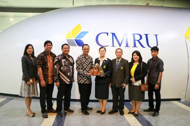 ผู้บริหาร มร.ชม. ให้การต้อนรับคณะผู้บริหารและอาจารย์จาก ยูนิเวอซิตัส บราวิจายา สาธารณรัฐอินโดนีเซีย
