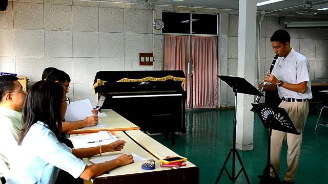 มร.ชม.คัดเลือกนักศึกษารอบโควตา ทดสอบความสามารถกีฬา ศิลปะ ดนตรี นาฏศิลป์