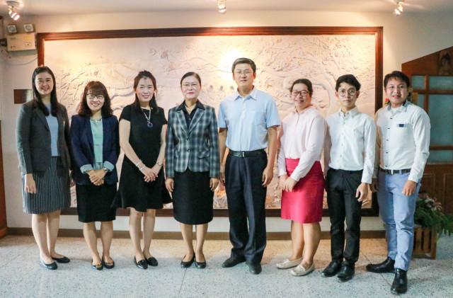 ม.ราชภัฏเชียงใหม่ ต้อนรับผู้บริหารจาก Guangxi University of Finance and Economics  สาธารณรัฐประชาชนจีน