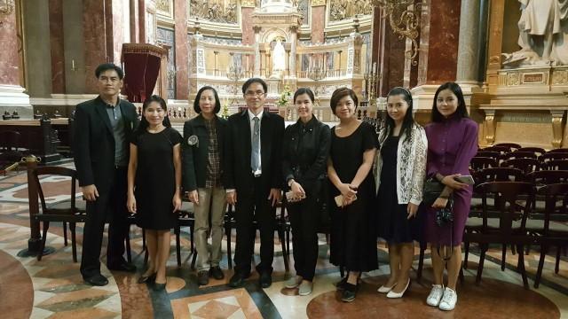 มร.ชม. เยือน Budapest Business School  ติดตามความก้าวหน้าโครงการความร่วมมือประเทศฮังการี