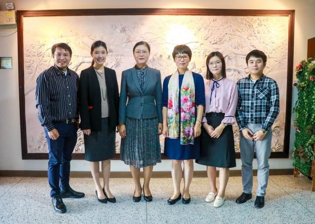 ม.ราชภัฏเชียงใหม่ ต้อนรับคณาจารย์จาก Zhejiang Yuexiu University of Foreign Languages สาธารณรัฐประชาชนจีน