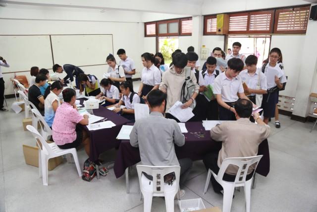 มร.ชม. เปิดบ้านรับรายงานตัวนักศึกษาใหม่ ภาคปกติ รอบรับตรง ประจำปีการศึกษา 2559 วันที่ 2 (มีคลิป)