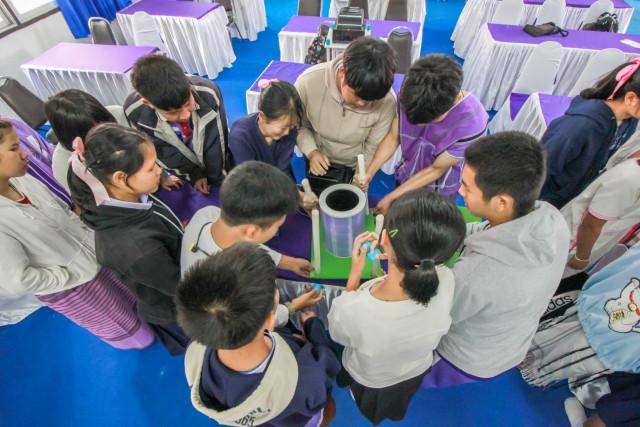 adiCET อบรมการสร้างความตระหนักถึงปัญหาฝุ่น PM 2.5 ให้แก่ครูและนักเรียนโรงเรียนอมก๋อยวิทยาคม