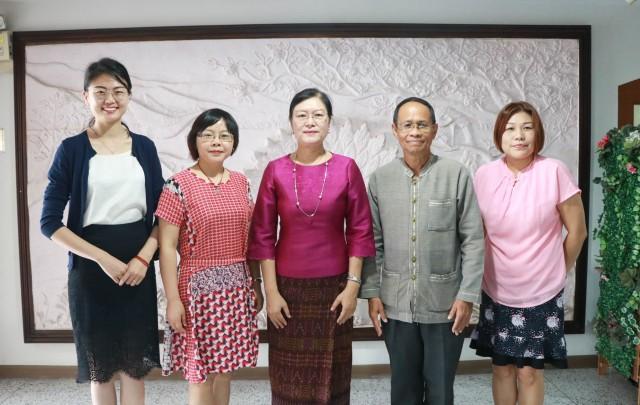 ผู้บริหาร มร.ชม. ให้การต้อนรับคณะผู้แทนจาก Chongqing Jiaotong University สาธารณรัฐประชาชนจีน มุ่งสานสัมพันธ์ความร่วมมือด้านการศึกษา