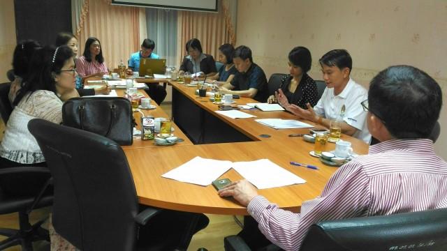 การประชุมคณะกรรมฝ่ายประชาสัมพันธ์