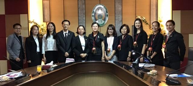มร.ชม. ต้อนรับคณะผู้บริหารและอาจารย์จาก Baise University สาธารณรัฐประชาชนจีน ร่วมหารือการสร้างความร่วมมือทางการศึกษาของ ๒ สถาบัน