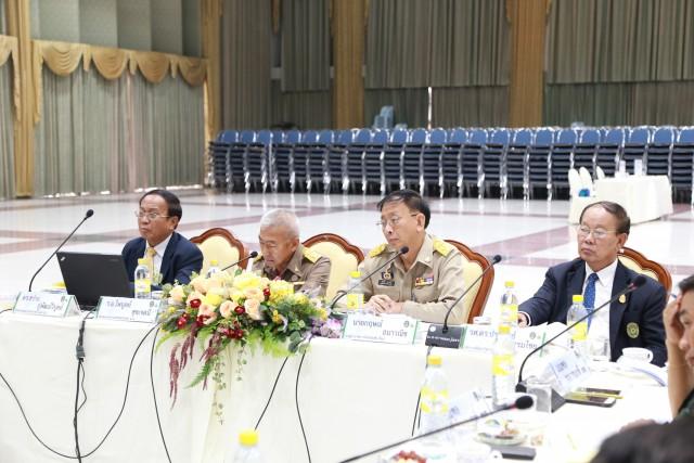 การประชุมเตรียมการรับเสด็จฯ ในการพระราชทานปริญญาบัตรบัณฑิตมหาวิทยาลัยราชภัฏเขตภาคเหนือ 8 แห่ง