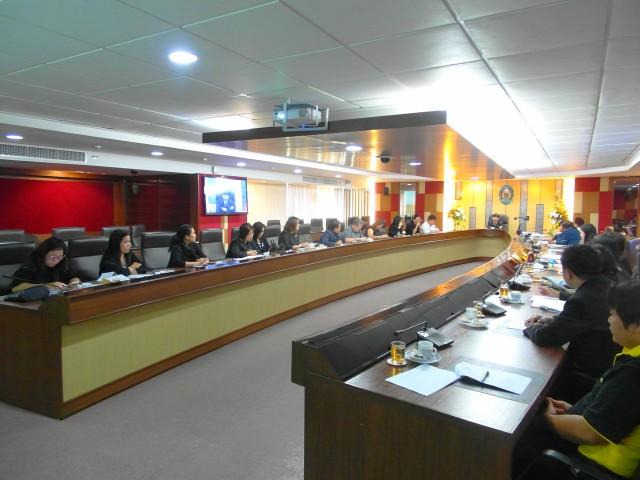 มร.ชม. ประชุมคณะกรรมการจัดงานบัณฑิตานุสรณ์ มหาวิทยาลัยราชภัฏเชียงใหม่ บัณฑิตรุ่นที่ 40 ประจำปี 2559