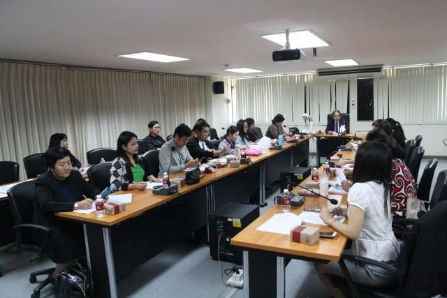 มร.ชม. เตรียมความพร้อม จัดประชุมวิชาการระดับนานาชาติ ครั้งที่ 1  (ICRU) World Sustainable Development (WSD 2019)