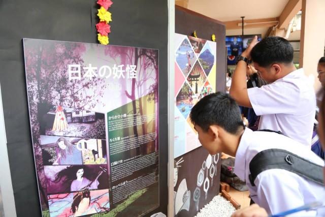 หลักสูตรภาษาภาษาญี่ปุ่น จัดนิทรรศการญี่ปุ่น ครั้งที่ 18 นิฮงไซ ประจำปี 2558