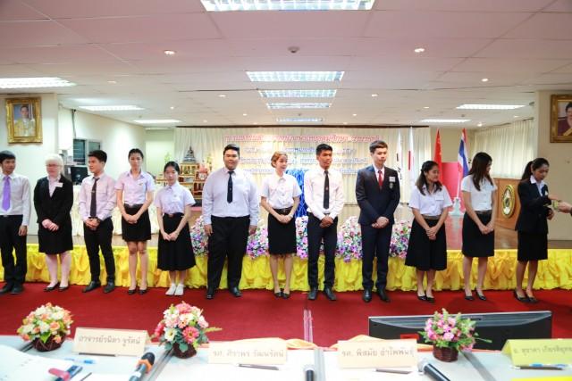 ภาควิชาภาษาไทย มร.ชม. จัดการแข่งขันสุนทรพจน์ภาษาไทยอุดมศึกษา นานาชาติ ประจำปี พ.ศ.2559