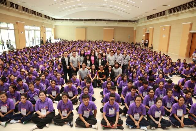 โครงการค่ายเสริมสร้างคุณธรรมจริยธรรมฯ คณะครุศาสตร์ มร.ชม. ประจำปี 2559