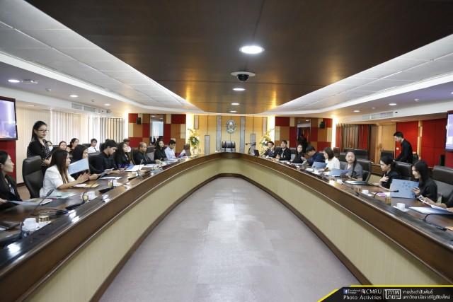 มหาวิทยาลัยราชภัฏเชียงใหม่ รับรายงานตัวบุคลากรที่สอบแข่งขันได้เพื่อบรรจุเป็นพนักงานมหาวิทยาลัย สังกัดมหาวิทยาลัยราชภัฏเชียงใหม่ ครั้งที่ 2/2560