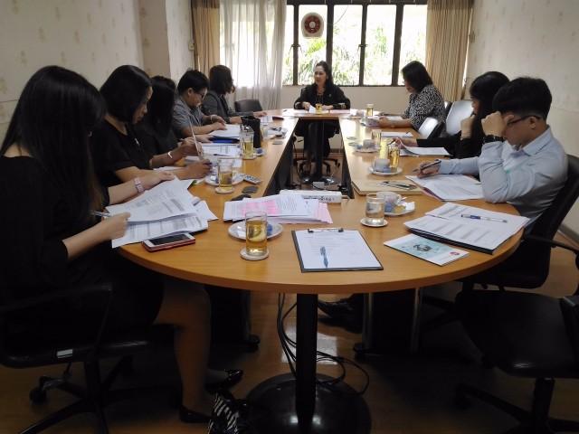 กองบริหารงานบุคคล มร.ชม. จัดประชุมหน่วยงานเพื่อจัดทำแบบสำรวจเชิงประจักษ์ Evidence - Based รอบที่ 2