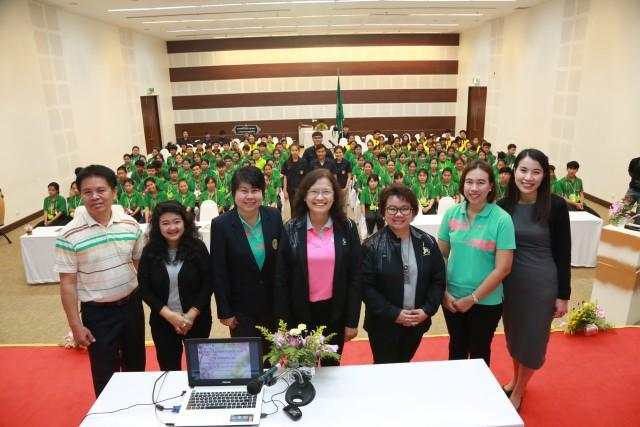 โครงการค่ายเสริมสร้างคุณธรรมจริยธรรมฯ คณะเทคโนยีการเกษตร ประจำปี 2559