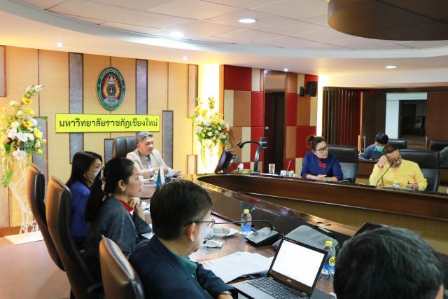 การประชุมคณะกรรมการดำเนินงานพิธีพระราชทานปริญญาบัตร ประจำปีการศึกษา 2559 – 2560 ครั้งที่ 3/2563
