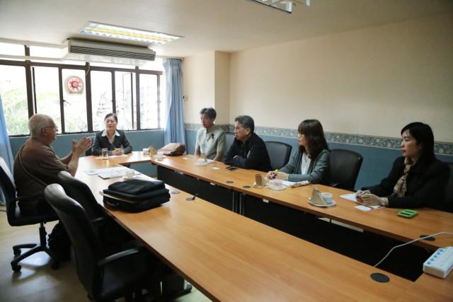 สำนักงานวิเทศสัมพันธ์ต้อนรับผู้อำนวยการสถาบัน Global Adventure Teaching Volunteer Thailand เพื่อหารือแนวทางพัฒนาคุณภาพการศึกษา