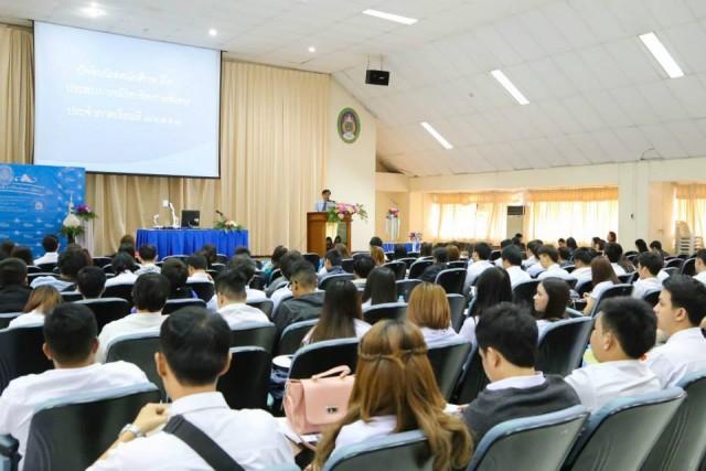 วจก. จัดปัจฉิมนิเทศนักศึกษาประจำปีการศึกษา 2557 พร้อมตลาดนัดธงฟ้าราคาประหยัด
