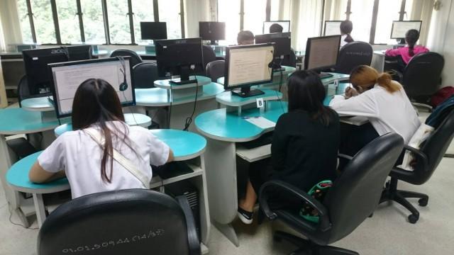 ศูนย์ภาษาจัดสอบ CMRU-TEP สำหรับนักศึกษาชั้นปีที่ 4 และ 5