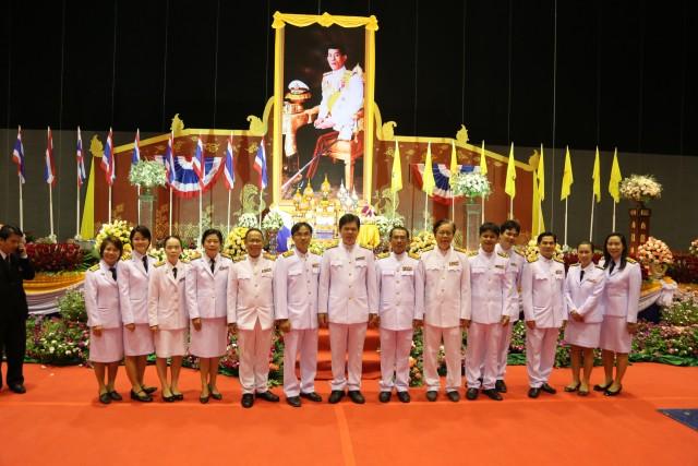 มร.ชม. ร่วมประกอบพิธีเฉลิมพระเกียรติ เนื่องในโอกาสเฉลิมพระชนมพรรษา สมเด็จพระบรมโอรสาธิราชฯ