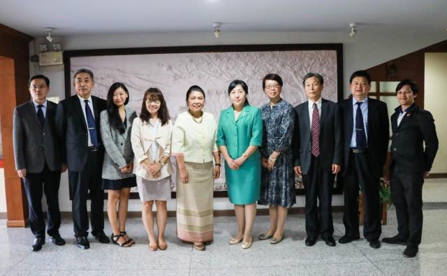 มร.ชม. ต้อนรับคณะผู้บริหารจาก Jining University สาธารณรัฐประชาชนจีน