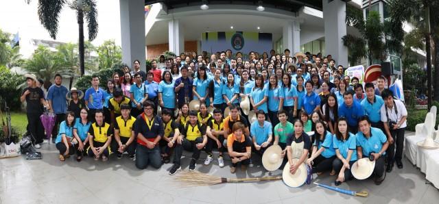 ผู้บริหาร คณาจารย์ บุคลากรและนักศึกษา มร.ชม. ร่วมใจกัน BIG Cleaning Day ประจำปี 2559