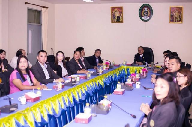 วิทยาลัยแม่ฮ่องสอน ประชุมบุคลากรสายวิชาการ ประจำปีการศึกษา 2559