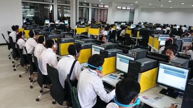การสอบ Placement Test สำหรับนักศึกษาคณะมนุษศาสตร์และสังคมศาสตร์ และคณะเทคโนโลยีการเกษตร