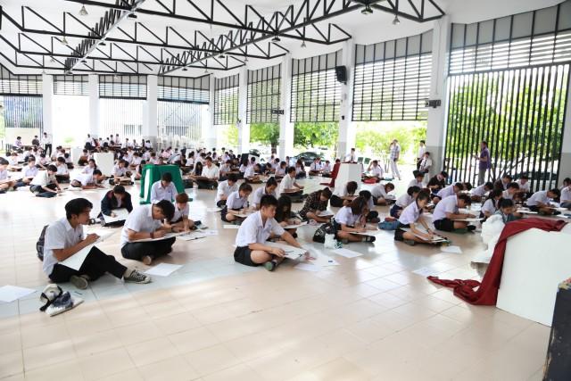 การสอบคัดเลือกผู้สมัครศึกษาต่อ ป.ตรี ประจำปีการศึกษา 2559 (การสอบภาคปฏิบัติ)