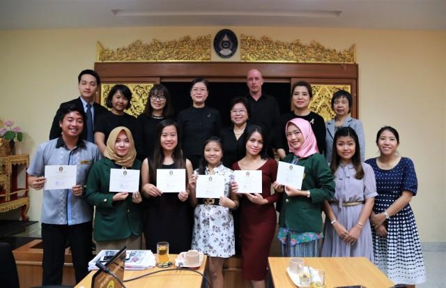 พิธีปัจฉิมนิเทศนักศึกษาจากโครงการแลกเปลี่ยนนักศึกษาครู  (SEA – Teacher Project) ประจำปีการศึกษา 2560
